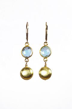 Melinda Lawton Jewelry Blue Topaz Gold - Product List Image