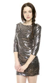Shoptiques Product: Sequin Swirl Dress
