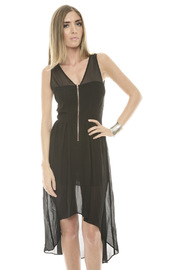 Shoptiques Product: Hi-Low Cut-Out Dress