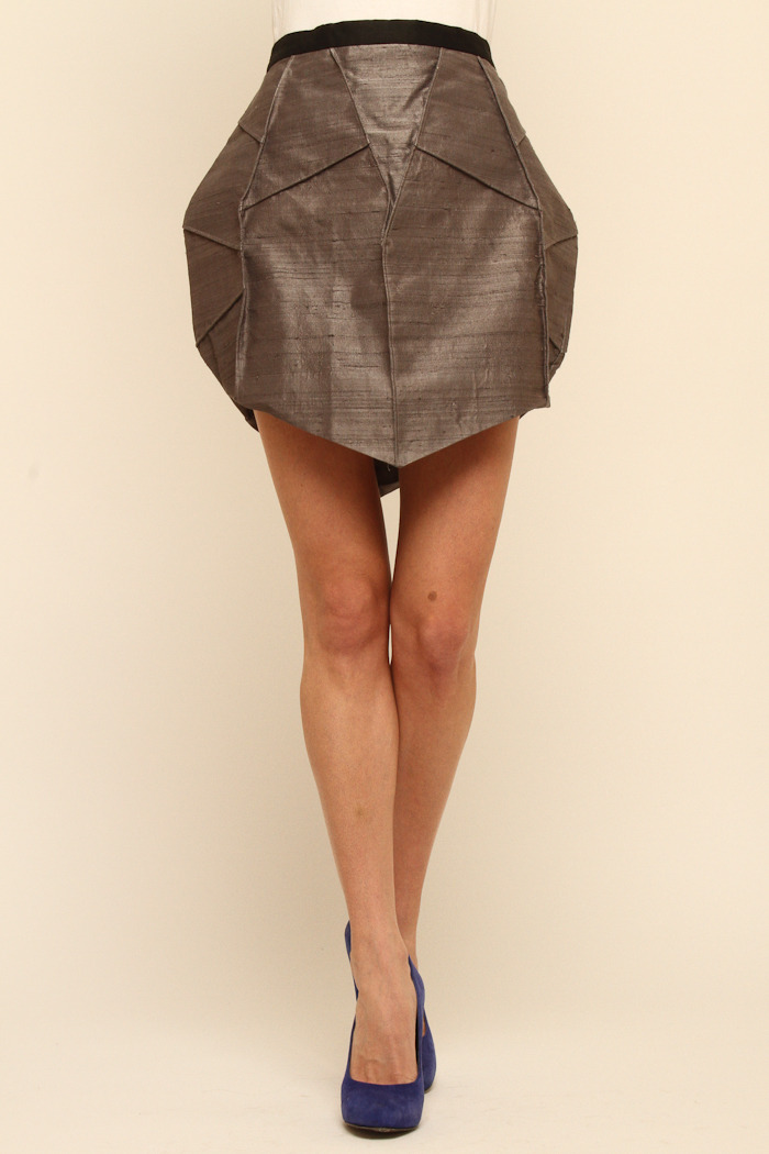 Cuffe Parade Tria Origami Skirt From Englewood Shoptiques