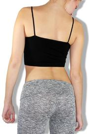 Nikibiki Seamless Crop Top - Front full body
