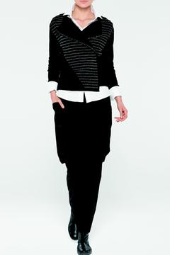 Shoptiques Product: Metallic Black Cardigan