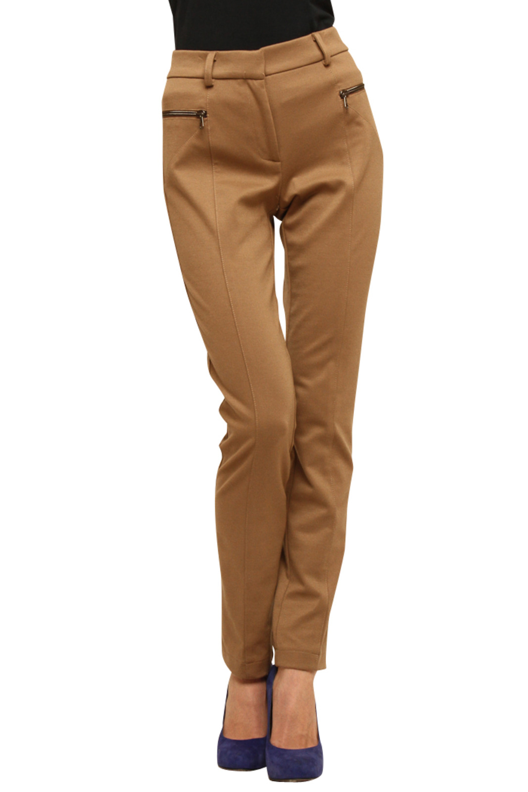 Please Jersey Skinny Pants - Front Cropped Image
