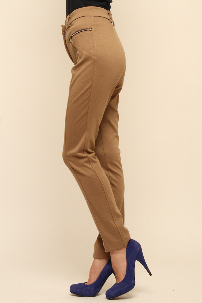 Please Jersey Skinny Pants - Side Cropped Image