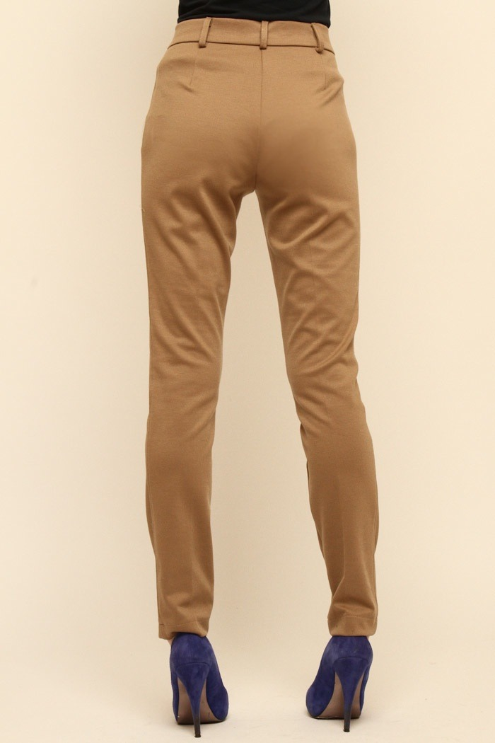 Please Jersey Skinny Pants - Back Cropped Image