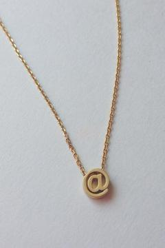 Shoptiques Product: At Sign Necklace
