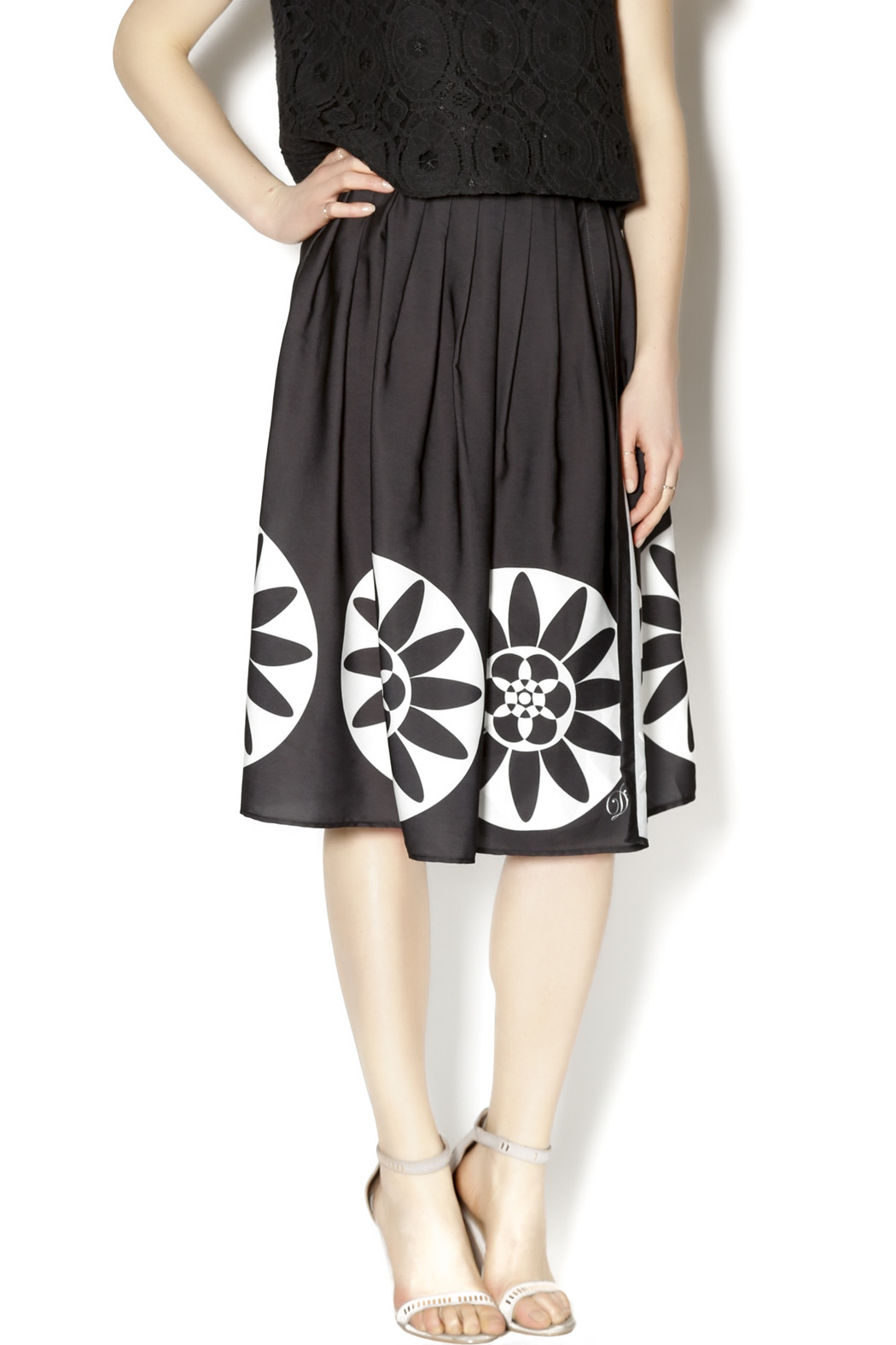 0bc515203a02 DESIGUAL Pleated Circle Skirt from Florida by i Tesori — Shoptiques