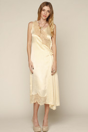 L.A. Boudoir Miami 1920's Long Night Gown - Front full body