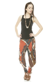 Maxime Paris Tina Harem Pants - Front full body