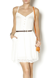 Double Zero Ivory Romance Dress - Front cropped