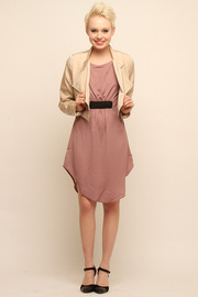 Shoptiques Product: Holmes Cropped Trench - Front full body