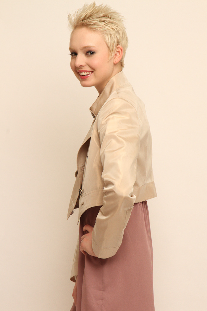 Tiffany Lawrence Holmes Cropped Trench - Side Cropped Image