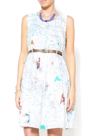 Shoptiques Product: Maps & Butterflies Dress