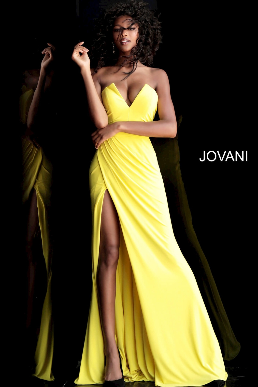 Jovani Strapless Gown - Main Image