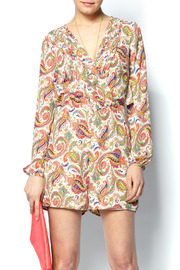 Shoptiques Product: Paisley Printed Romper