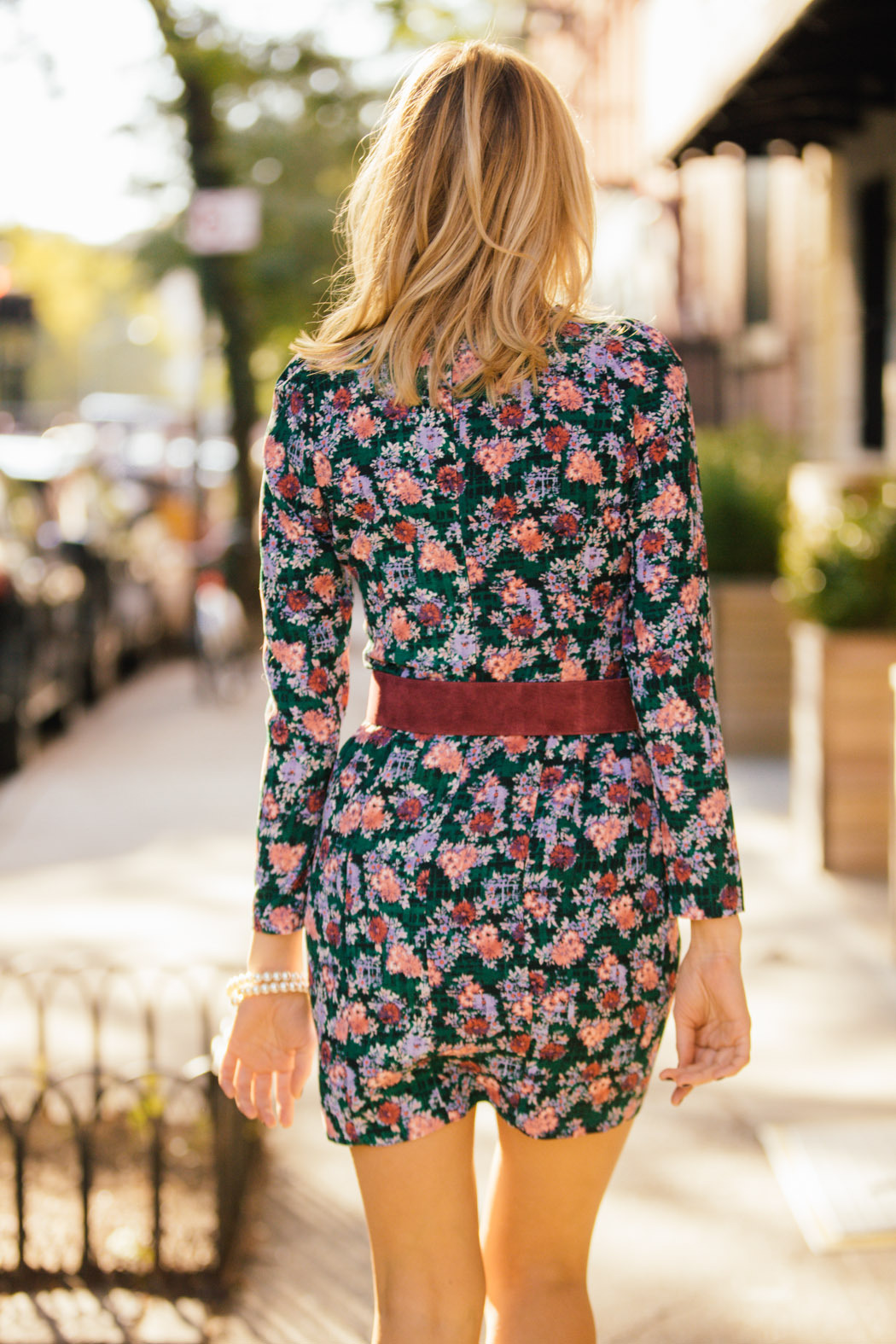 Pinkyotto Floral Dress - Side Cropped Image