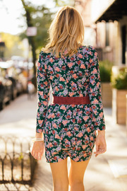 Pinkyotto Floral Dress - Side cropped