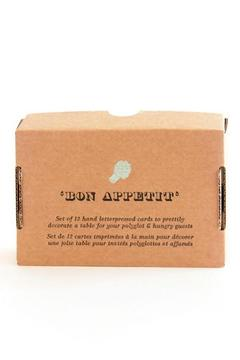Shoptiques Product: Bon Appetit Placecards