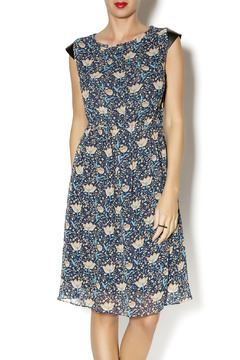 Kling Navy Floral Dress - Product List Image