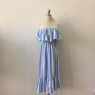 Shoptiques Off The Shoulder Ruffle Dress
