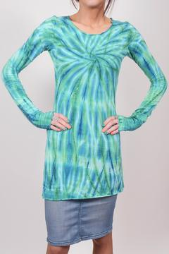 Hard Tail Forever  Spiral Tye-Dye T-Shirt - Product List Image