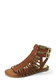Vince Camuto Leather Gladiator Sandal - Front full body