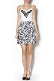 Angie Floral Swing Skirt - Front full body