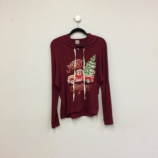 Shoptiques Product: Christmas Hoodie