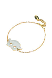 felicie aussi Enamel Sheep Bracelet - Product Mini Image