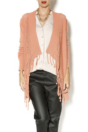 Ivy Jane Fringe Sweater Cardigan - Product Mini Image