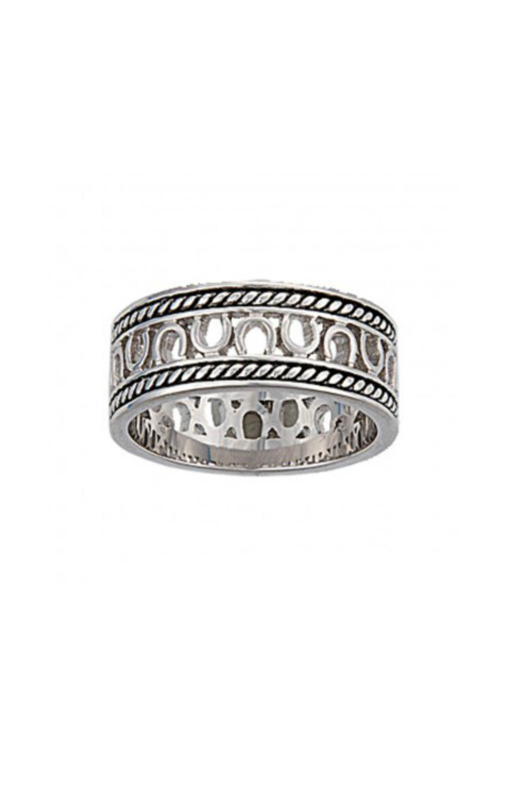 Montana Silversmiths Cowgirl's Promise Ring - Main Image
