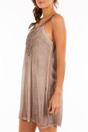 Shoptiques Product: Brown Boho Dress - Front full body