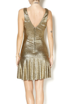 Sam & Lavi Metallic Gold Dress - Alternate List Image