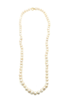 Shoptiques Product: London White Rope Necklace