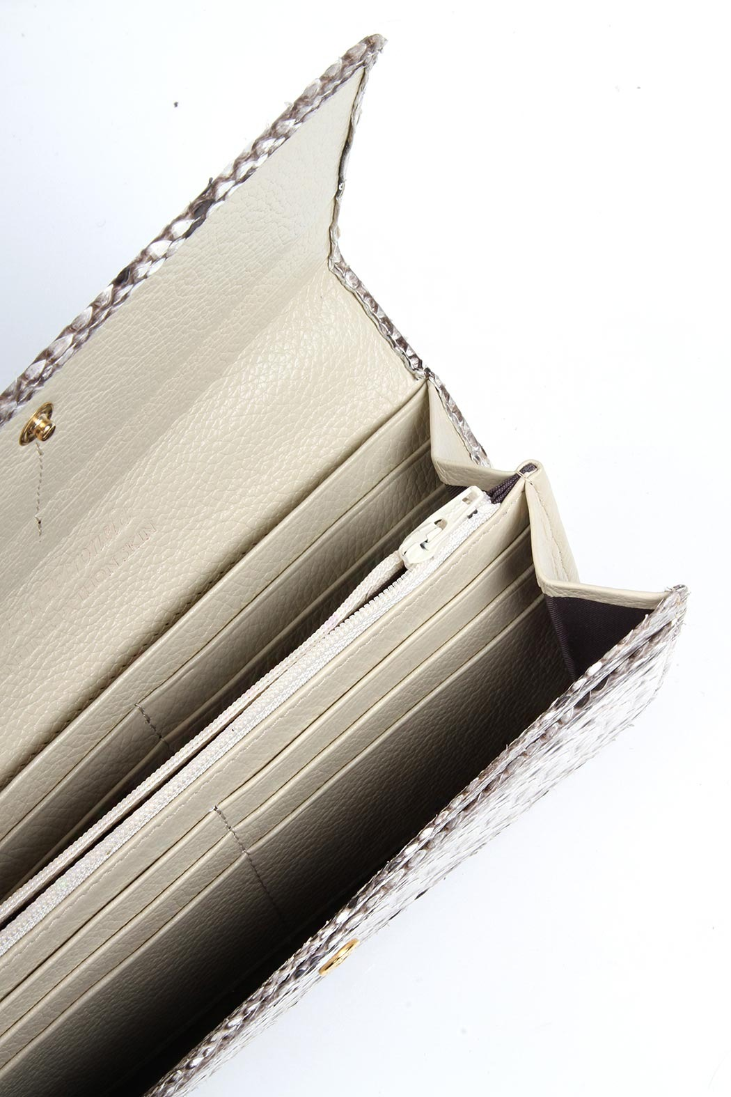 W.H. Petronela Python Wallet - Side Cropped Image