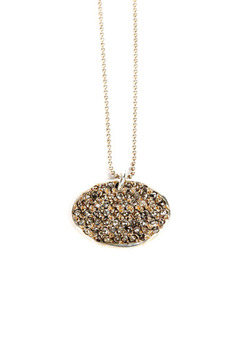 Chan Luu Diamond Oval Necklace - Product List Image