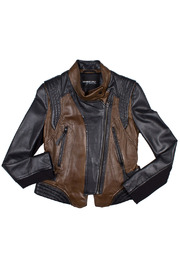 Members Only Two Tone Moto Jacket - Product Mini Image