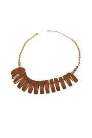 Shoptiques Product: Gold Segmented Necklace