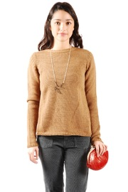 Shoptiques Product: Open-Back Wool Sweater