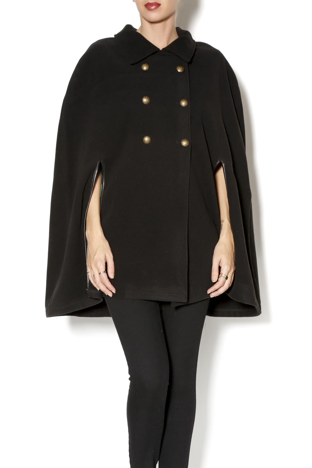Charlie Paige Trench Coat Poncho - Main Image