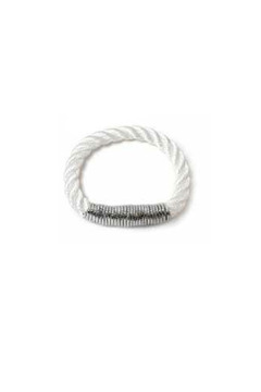THE ROPES OF MAINE Silver Scarborough Bracelet - Alternate List Image