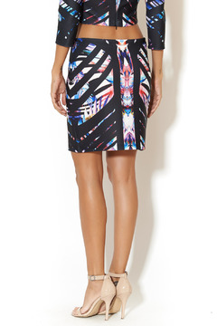 johanne Beck Geo Graphic Skirt - Alternate List Image