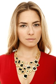 Shoptiques Product: Enamel Bib Necklace