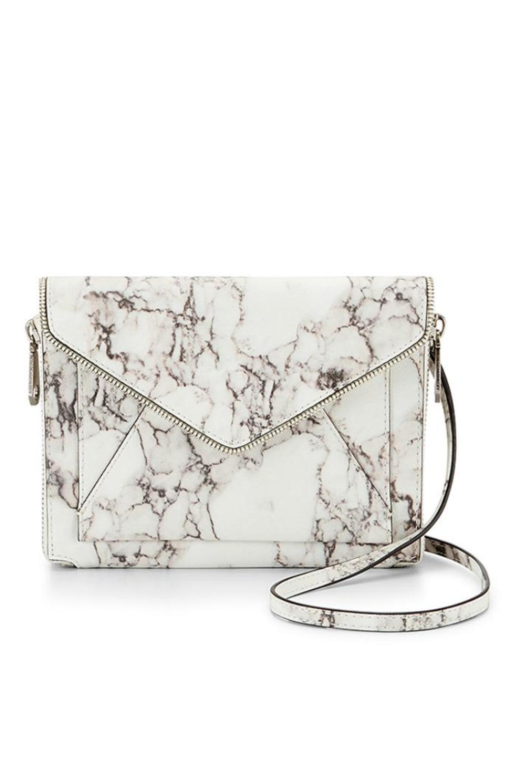 Rebecca Minkoff Marlowe Marbleized Crossbody - Front Cropped Image