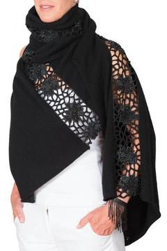 CLAIRE FLORENCE Beaded Lace Blanket - Product List Image