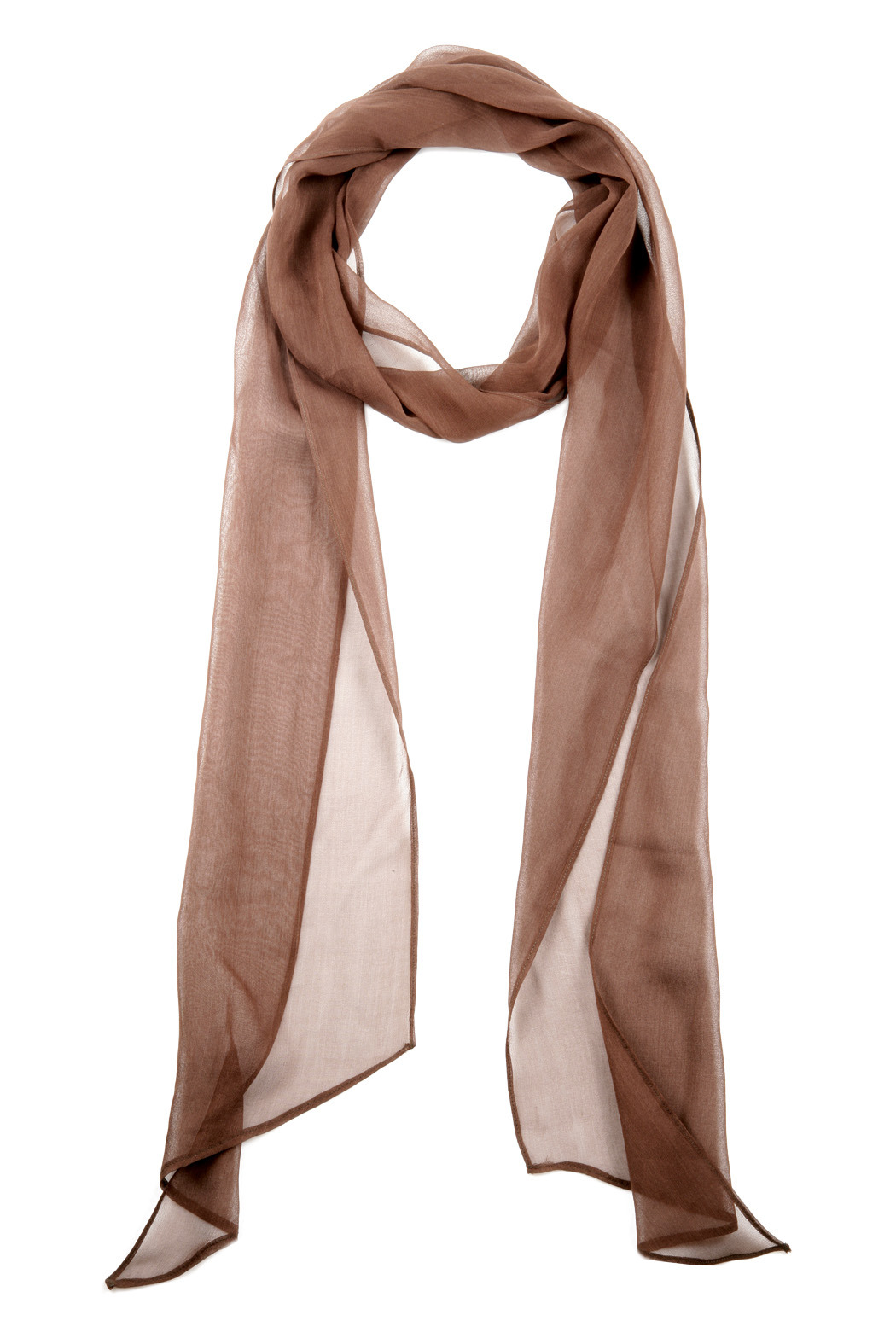 Anjelie Kumar Silk Multi Scarf - Front Cropped Image