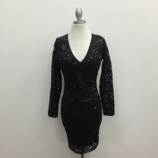 Shoptiques Long Sleeve Mini Dress