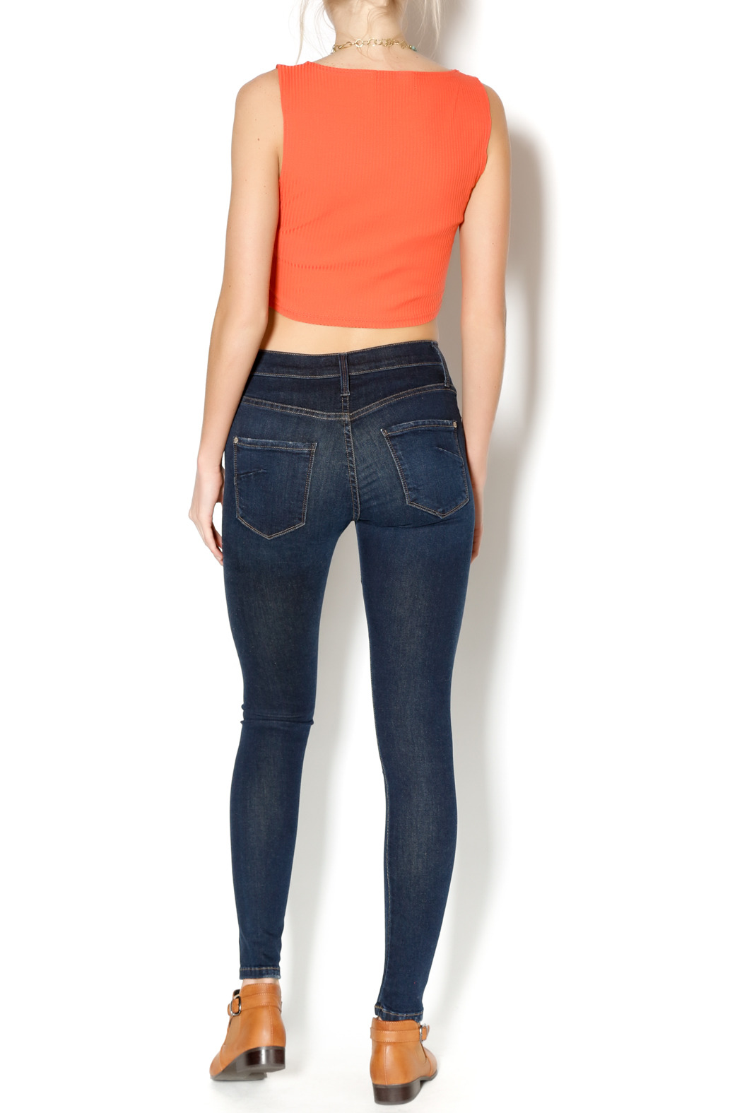 James Jeans Pirouette Twiggy Dancer Denim - Side Cropped Image