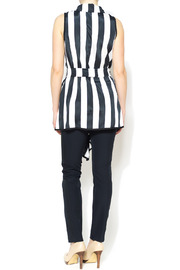 Nico LA Striped Belted Top - Other