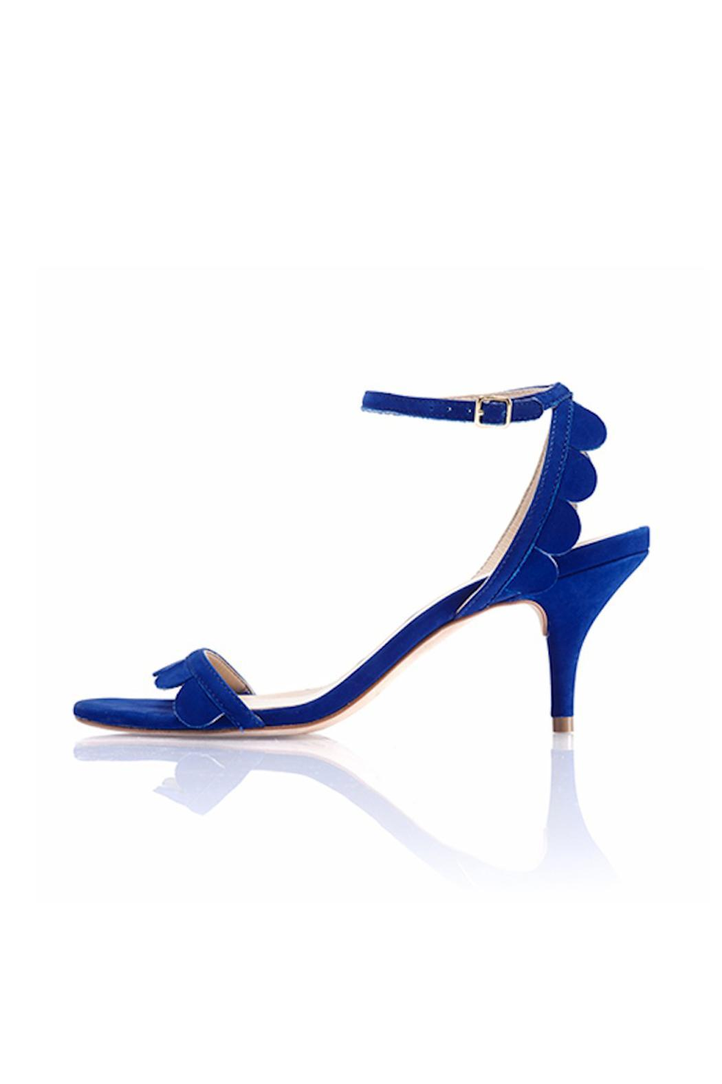 Loeffler Randall Lillit In Blue - Front Cropped Image